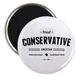 Proud Conservative American Magnets