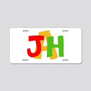 JAH! Aluminum License Plate