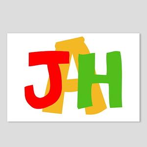JAH! Postcards (Package of 8)