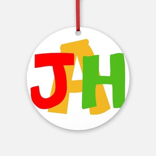 JAH! Ornament (Round)