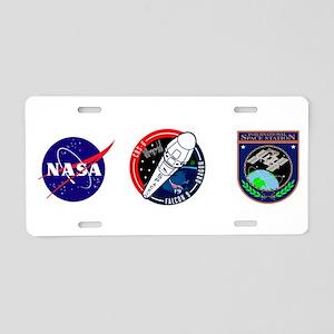 CRS-6 Logo Aluminum License Plate