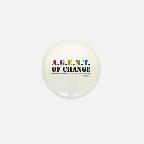 Agent of Change Mini Button