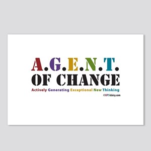 Agent of Change Postcards (Package of 8)