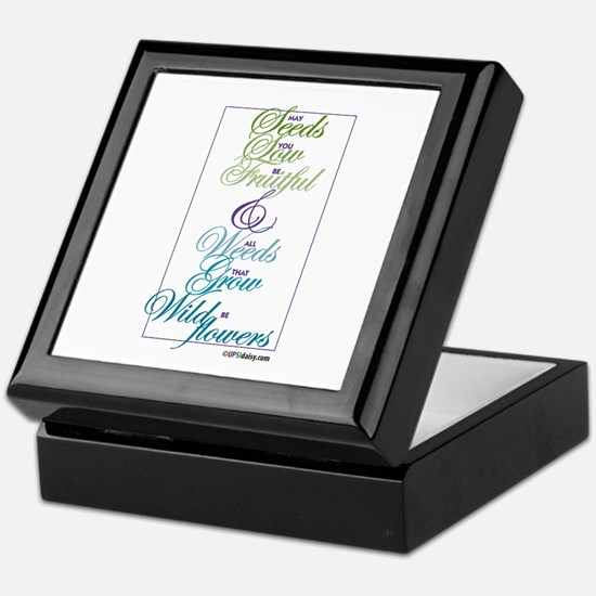 Seeds Keepsake Box