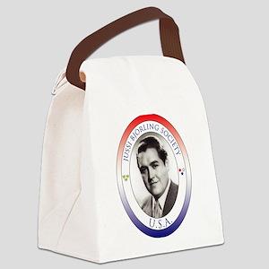 Jbs-Usa Logo Canvas Lunch Bag