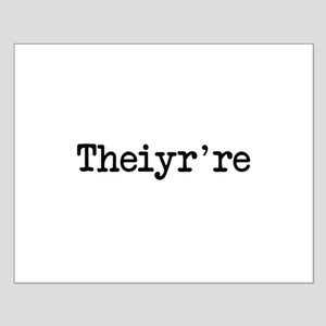 Theiyr're Their There They're Grammer Typo Posters