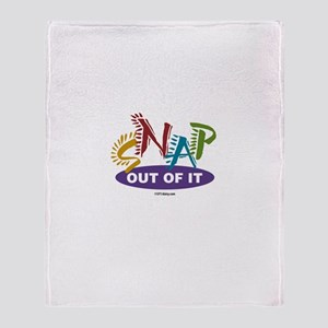 Snap Out of It Throw Blanket