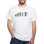 Vitruvian Evolution White T-Shirt