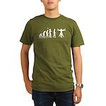 Vitruvian Evolution Organic Men's T-Shirt (dark)