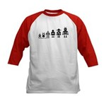 Robot Evolution Kids Baseball Jersey