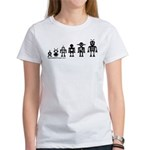 Robot Evolution Women's T-Shirt