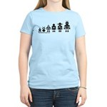 Robot Evolution Women's Light T-Shirt