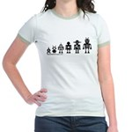 Robot Evolution Jr. Ringer T-Shirt