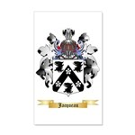 Jacqueau 35x21 Wall Decal