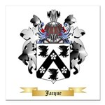 Jacque Square Car Magnet 3