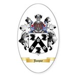 Jacque Sticker (Oval 50 pk)