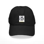 Jacquard Black Cap