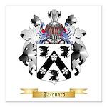 Jacquard Square Car Magnet 3