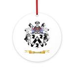 Jacquard Ornament (Round)