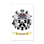 Jacoton 20x12 Wall Decal