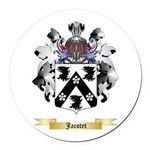 Jacotet Round Car Magnet