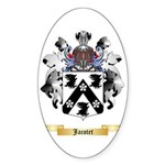 Jacotet Sticker (Oval 50 pk)
