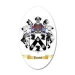 Jacotet 20x12 Oval Wall Decal