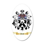 Jacot 20x12 Oval Wall Decal