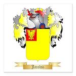 Jacobsz Square Car Magnet 3