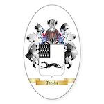 Jacobs 2 Sticker (Oval 10 pk)