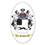 Jacobs 2 Sticker (Oval 50 pk)