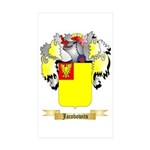 Jacobowits Sticker (Rectangle 50 pk)