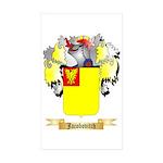 Jacobovitch Sticker (Rectangle 50 pk)