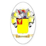 Jacobovitch Sticker (Oval 10 pk)