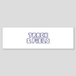 OPEN TRACK AND FIELD Bumper Sticker