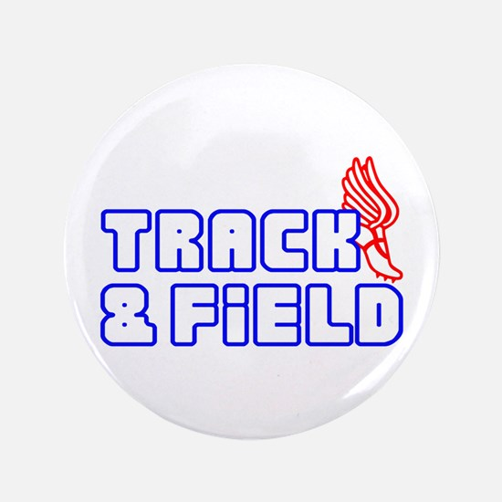 """OPEN TRACK AND FIELD WITH SHOE 3.5"""" Button"""