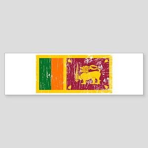 Vintage Sri Lanka Bumper Sticker