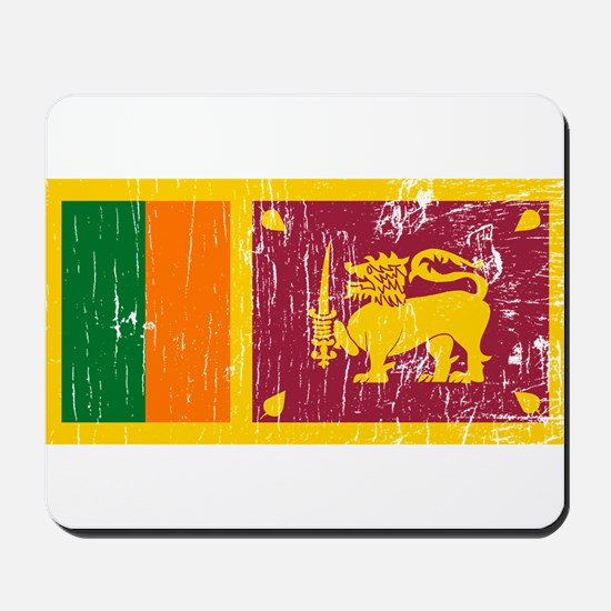 Vintage Sri Lanka Mousepad