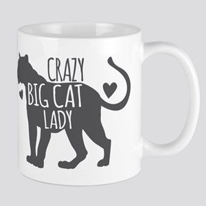 Crazy Big Cat Lady Mugs