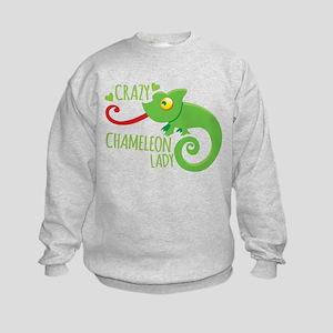 Crazy Chameleon Lady Jumper Sweater