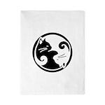 Yin-Yang-Cat Twin Duvet