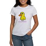 Duck Song (women) White T-Shirt