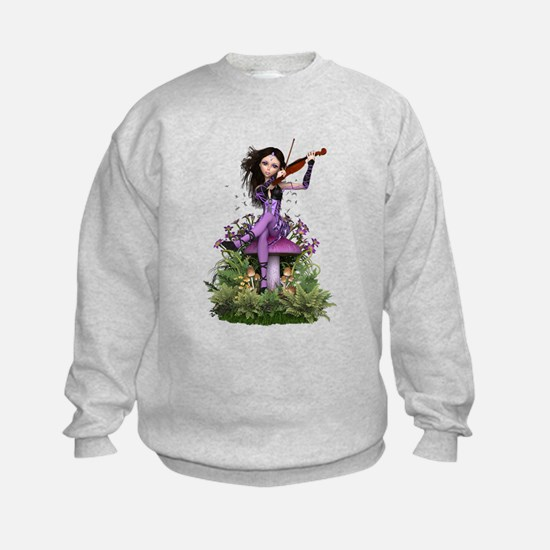 Amethyst Fairy ~ Summer Melody Sweatshirt