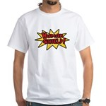 Human Shield White T-Shirt