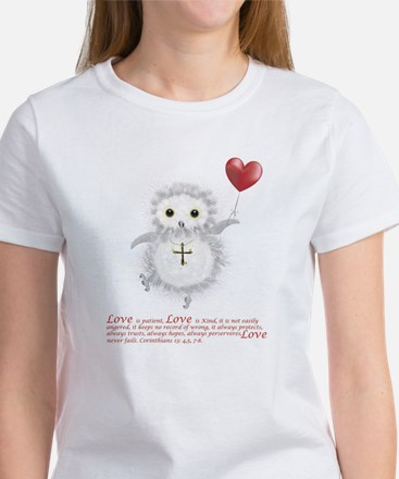 Flying Valentine With Corinthians  Women's T-Shirt