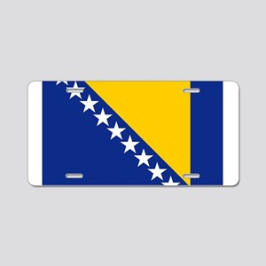 bih-flag Aluminum License Plate