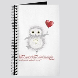 Flying Valentine With Corinthians 13: 4,5, Journal