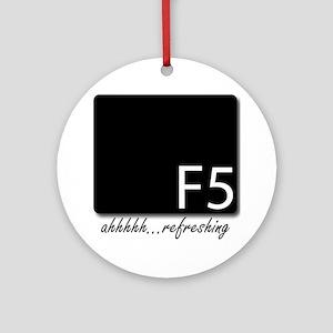 F5 Round Ornament