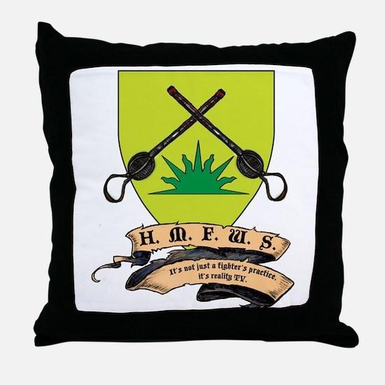 Unique Sca Throw Pillow