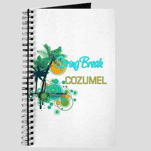Palm Trees Circles Spring Break COZUMEL Journal